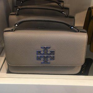 tory burch britten mini top handle bag
